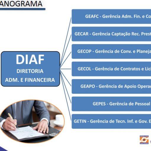 Organograma DGAF