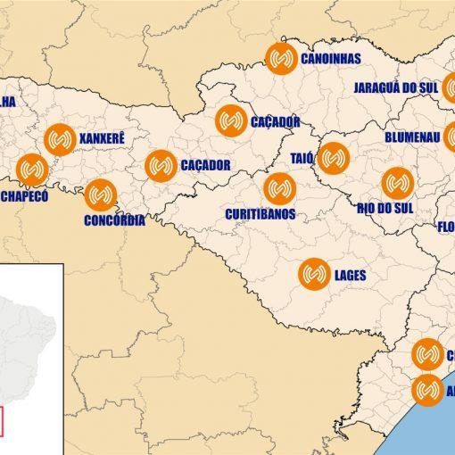 regionaismapa