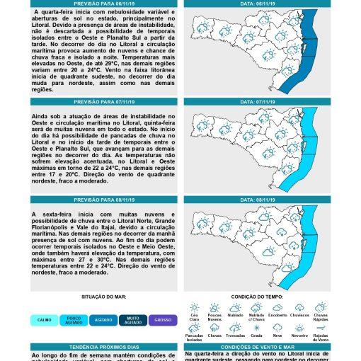 Boletim Meteorológico DC-SC - 2019.11.06 - DIÁRIO_page-0001.jpg